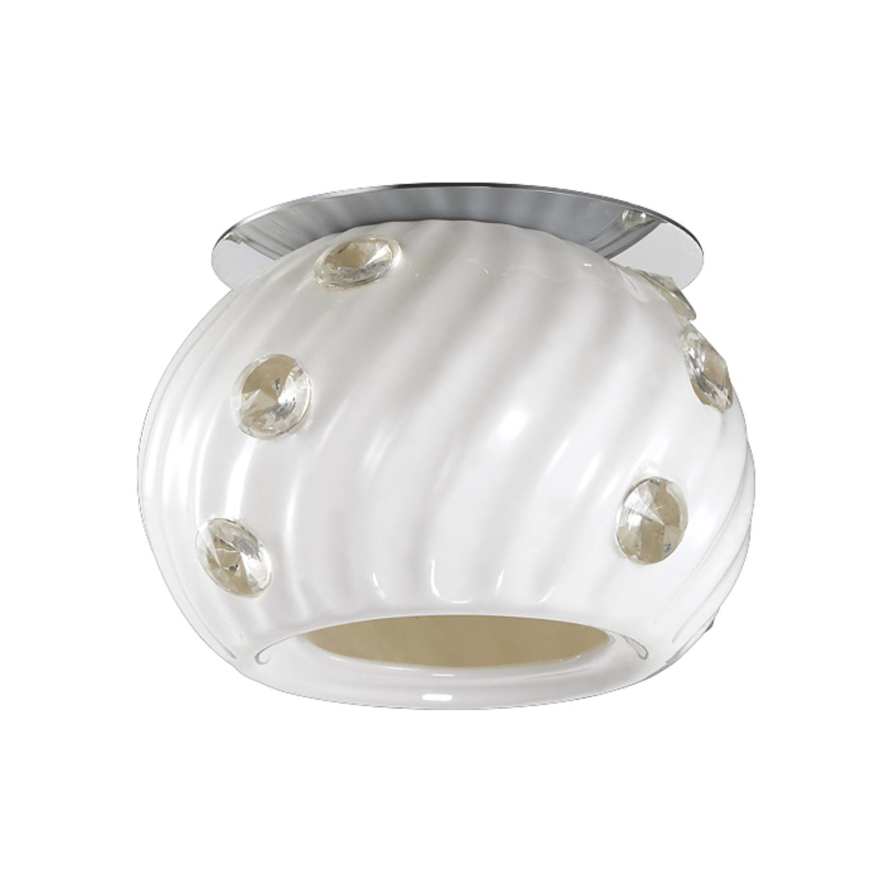 370157 NT15 190 хром Встраиваемый светильник IP20 G9 40W 220V ZEFIRO