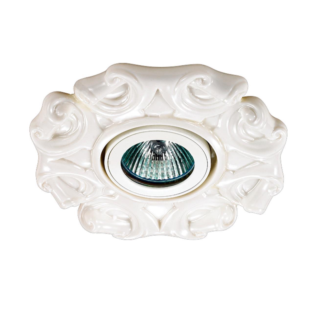 370040 SPOT NT15 120 белый Встраиваемый светильник IP20 GX5.3 50W 12V FARFOR
