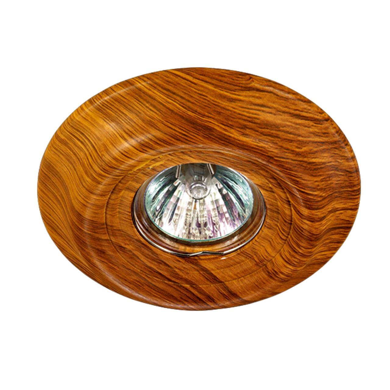 370088 SPOT NT15 117 светлое дерево Встраиваемый светильник IP20 GX5.3 50W 12V PATTERN