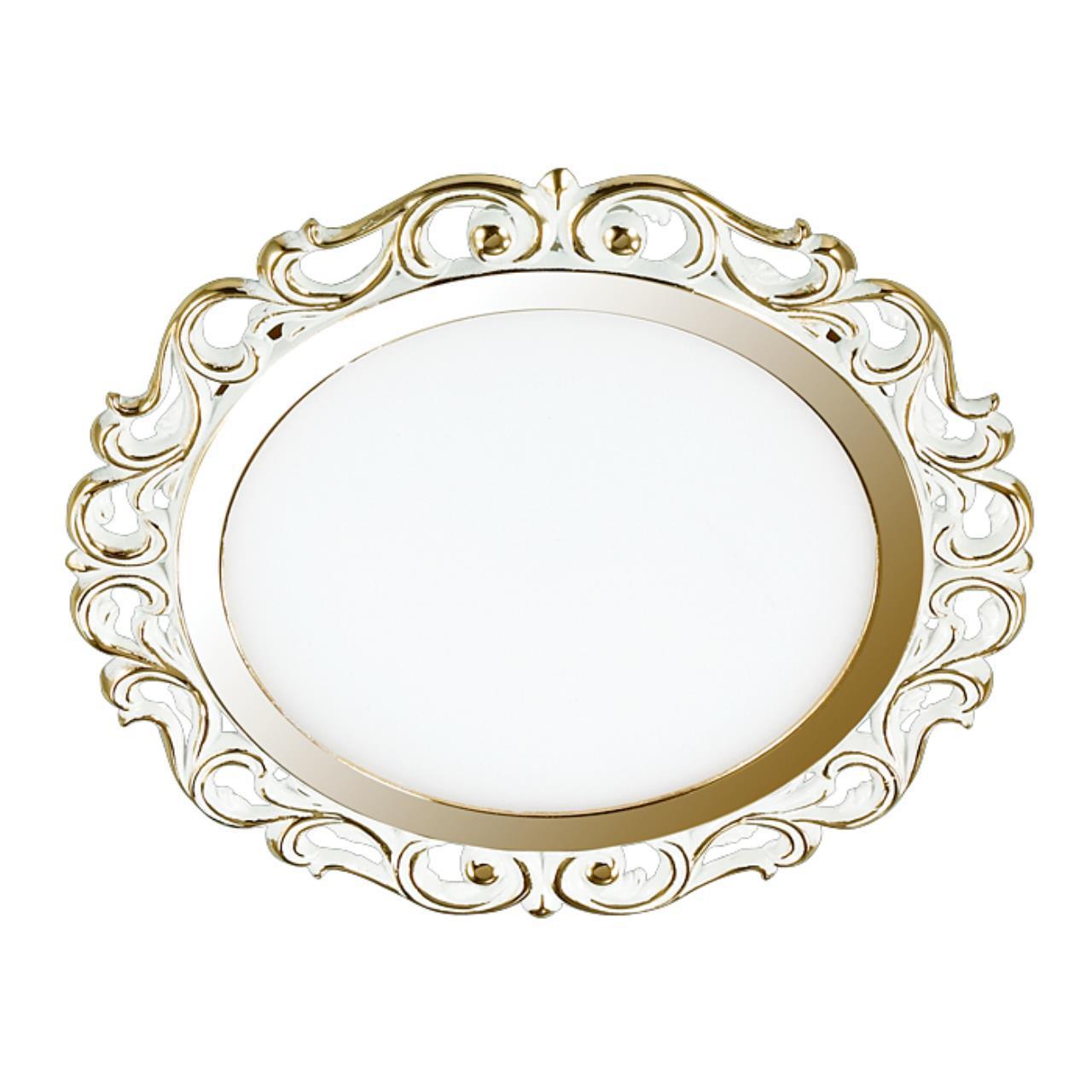 357264 SPOT NT16 141 белый/золото Встраиваемый светильник IP20 LED 3000K 12W 220-240V PEILI