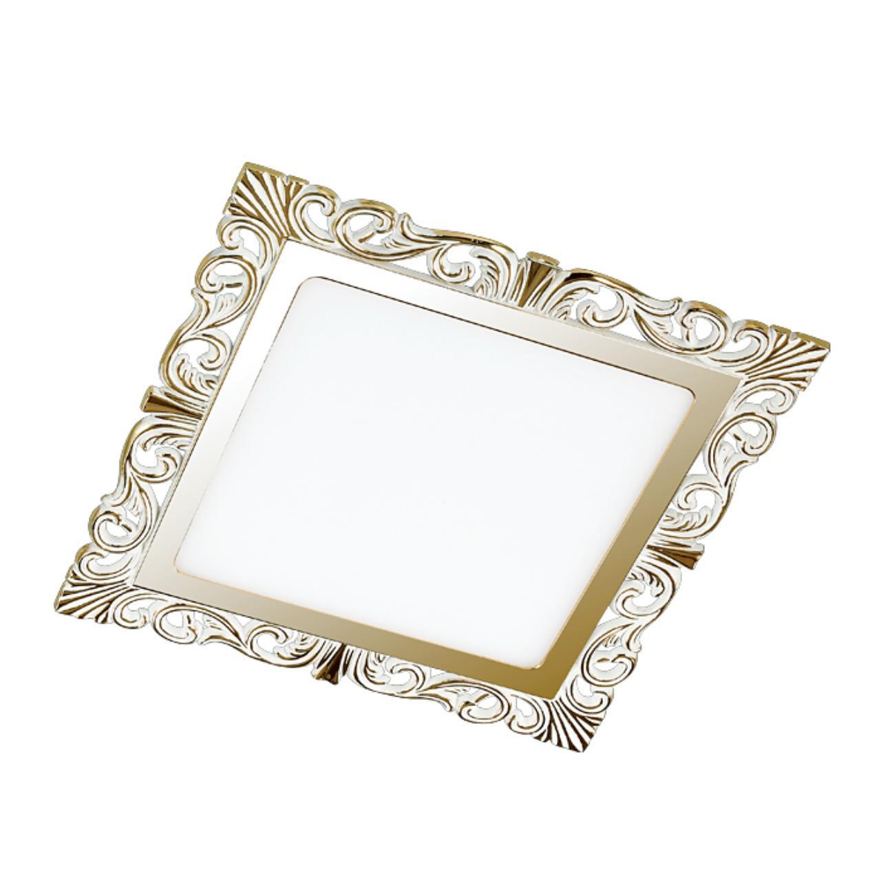 357280 SPOT NT16 141 белый/золото Встраиваемый светильник IP20 LED 3000K 15W 220-240V PEILI