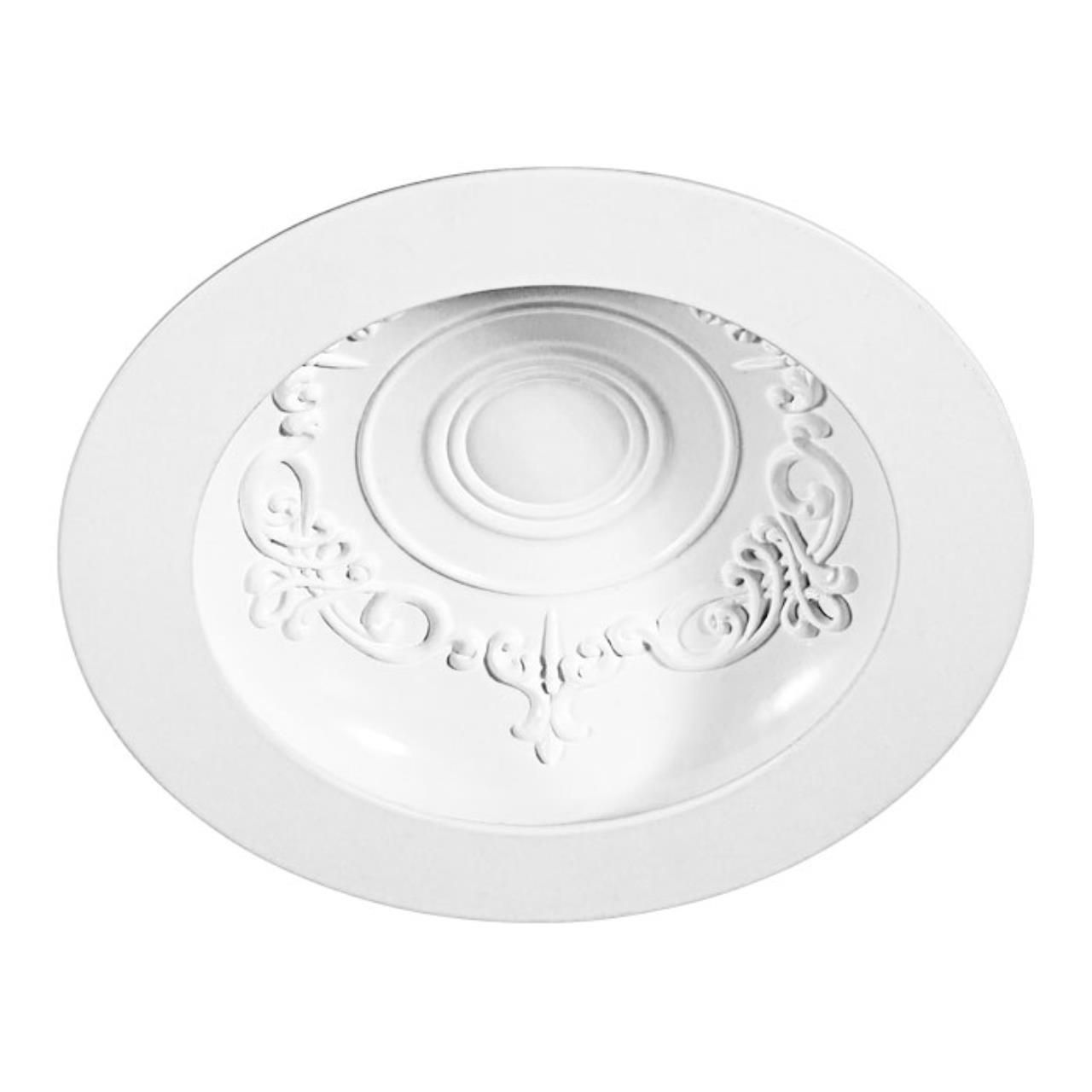 357358 SPOT NT17 141 белый Встраиваемый светильник IP20 LED 3000К 9W 85-265V GESSO