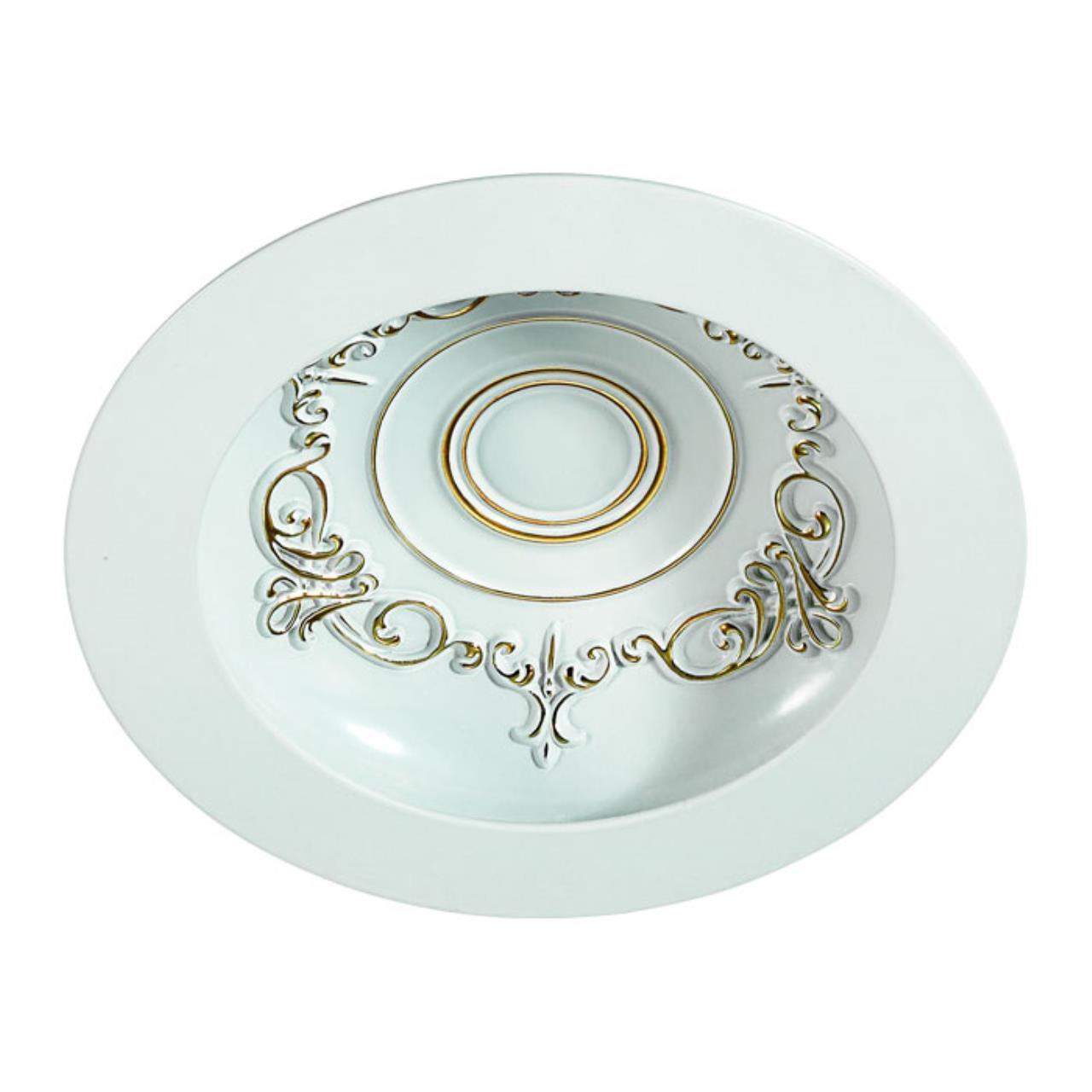 357360 SPOT NT17 141 белый/золото Встраиваемый светильник IP20 LED 3000K 9W 85-265V GESSO
