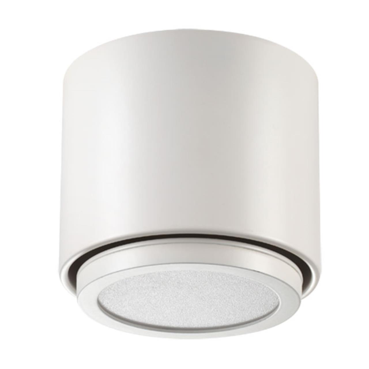 357455 OVER NT18 072 матовый белый Накладной светильник IP20 LED 3000K 8W+3W 100-240V SOLO