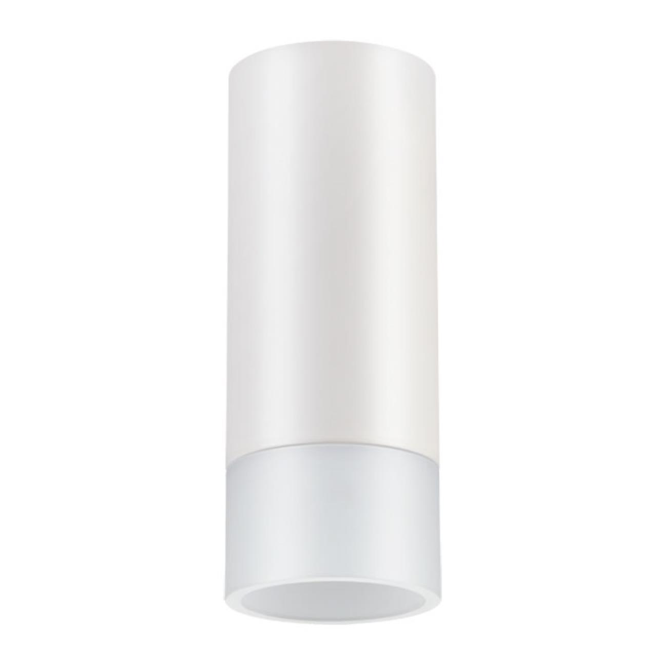 357459 OVER NT18 073 матовый белый Накладной светильник IP20 LED 3000K 10W 100-240V SOLO