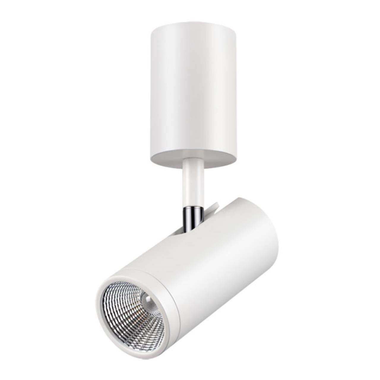 357467 OVER NT18 074 матовый белый Накладной светильник IP20 LED 3000K 7W 100-240V TUBO
