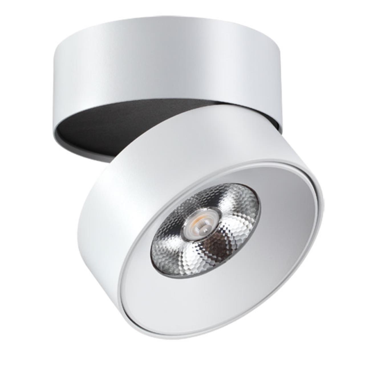 357473 OVER NT18 074 белый Накладной светильник IP20 LED 3000K 25W 100-240V TUBO