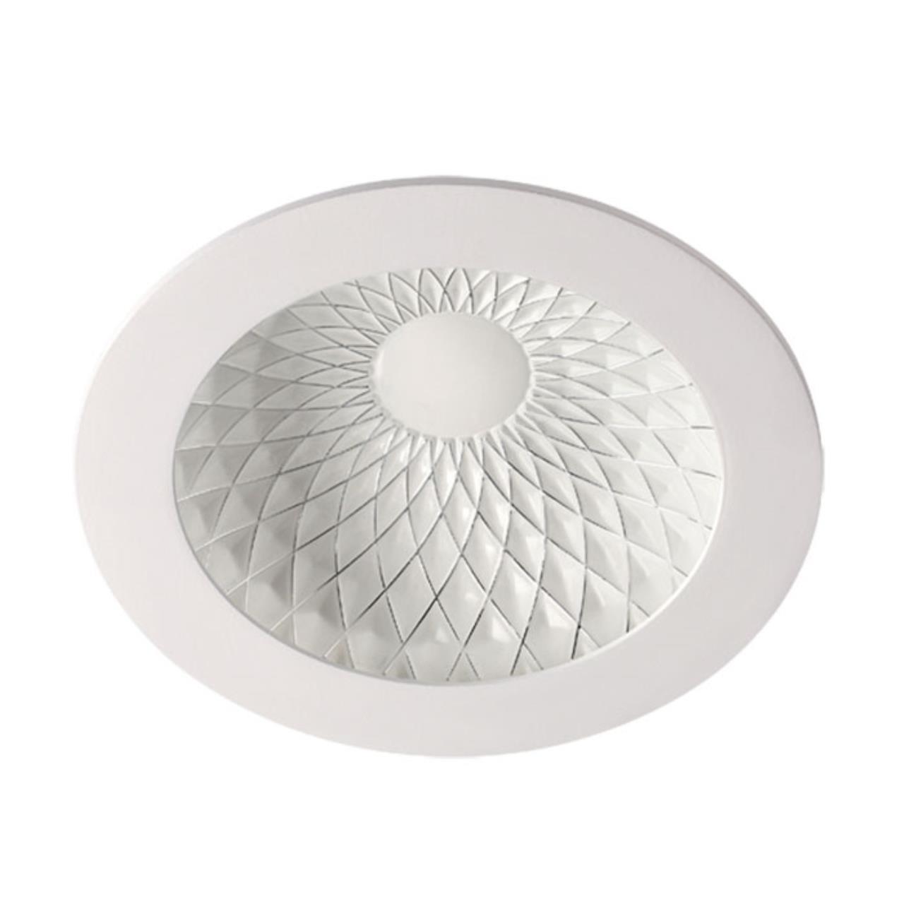 357501 SPOT NT18 141 белый/хром Встраиваемый светильник IP20 LED 3000K 15W 85-265V GESSO