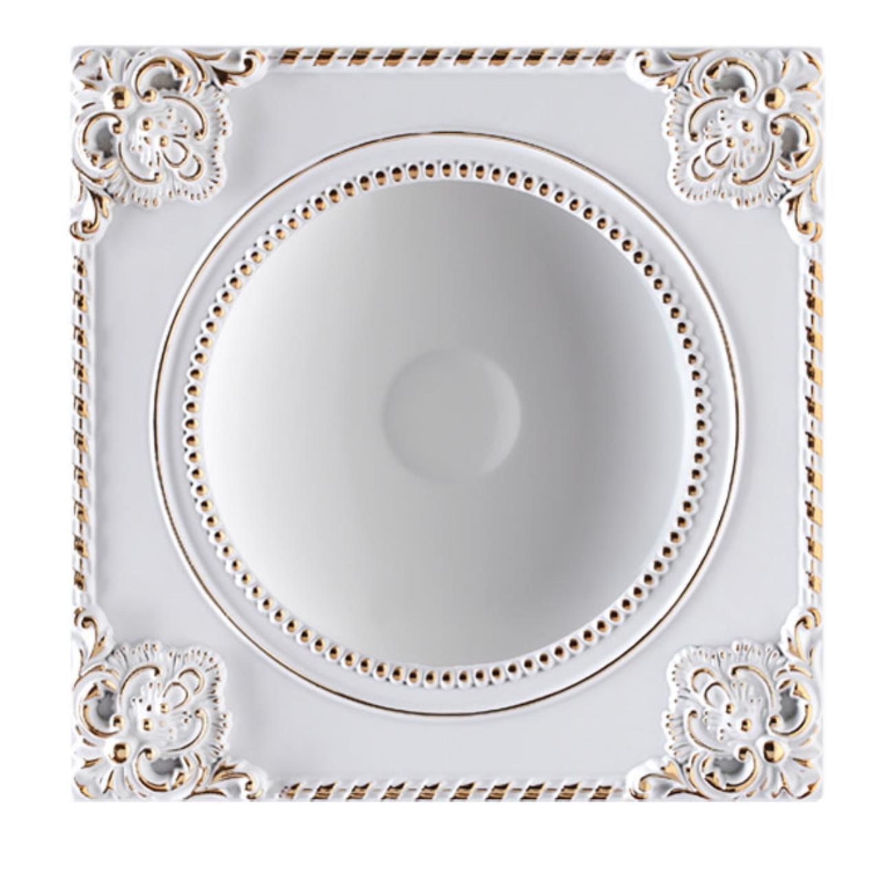 357616 SPOT NT18 141 белый/золото Встраиваемый светильник IP20 LED 3000K 18W 85-265V NOVEL