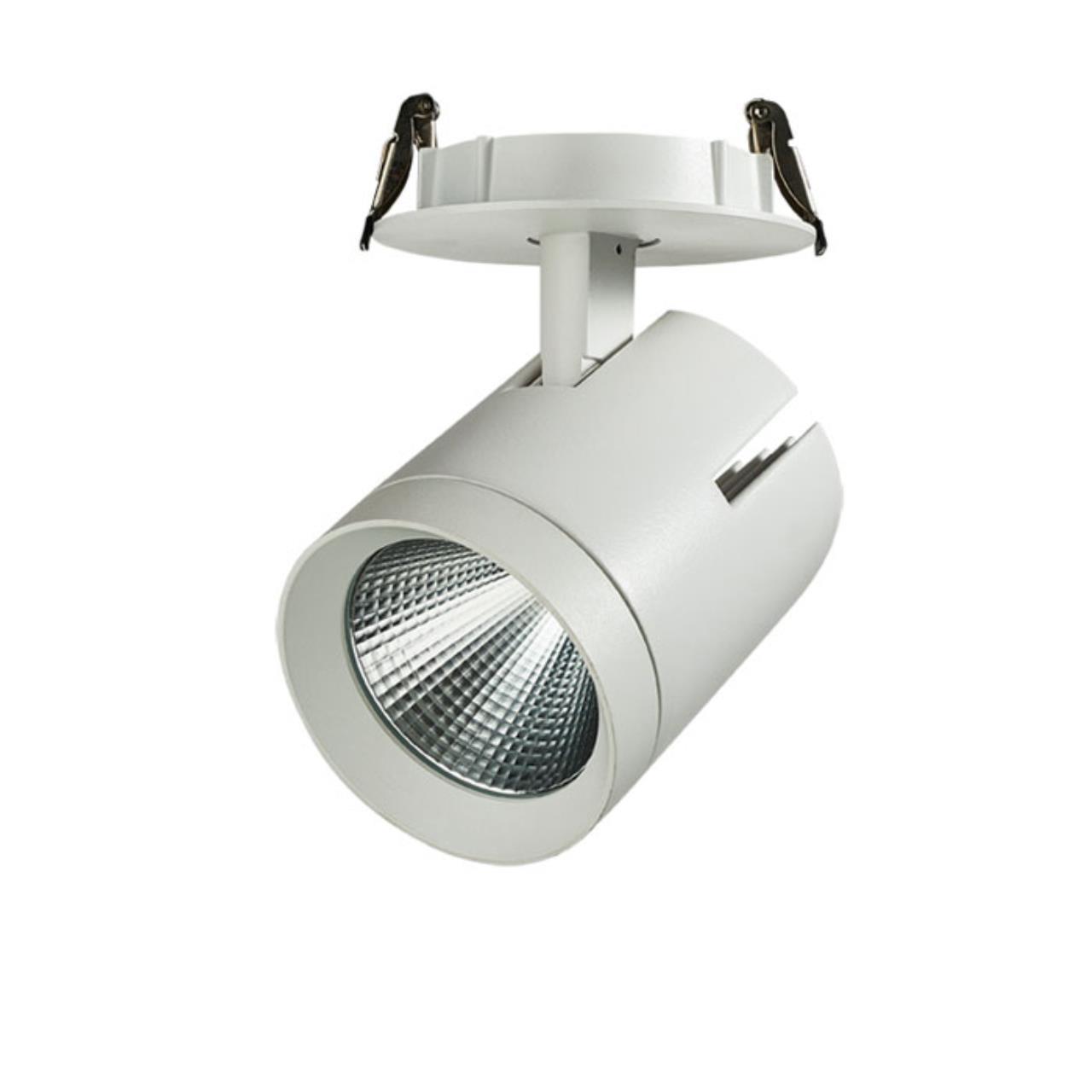 357542 SPOT NT18 055 белый Встраиваемый светильник IP20 LED 3000K 40W 220-240V SEALS