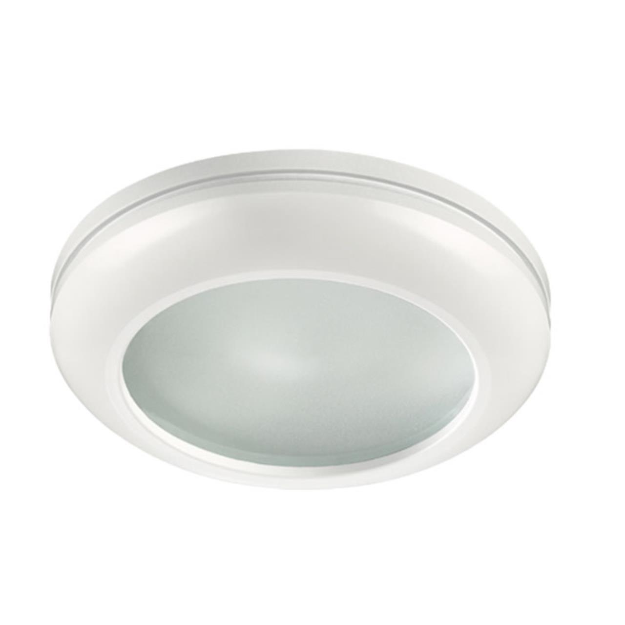 370387 SPOT NT18 139 белый Встраиваемый светильник GX5.3 50W 12V DAMLA