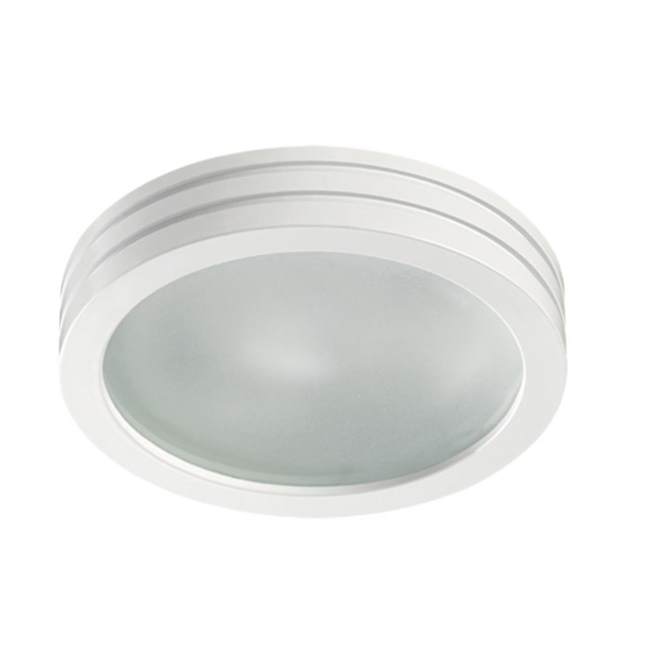 370389 SPOT NT18 139 белый Встраиваемый светильник GX5.3 50W 12V DAMLA
