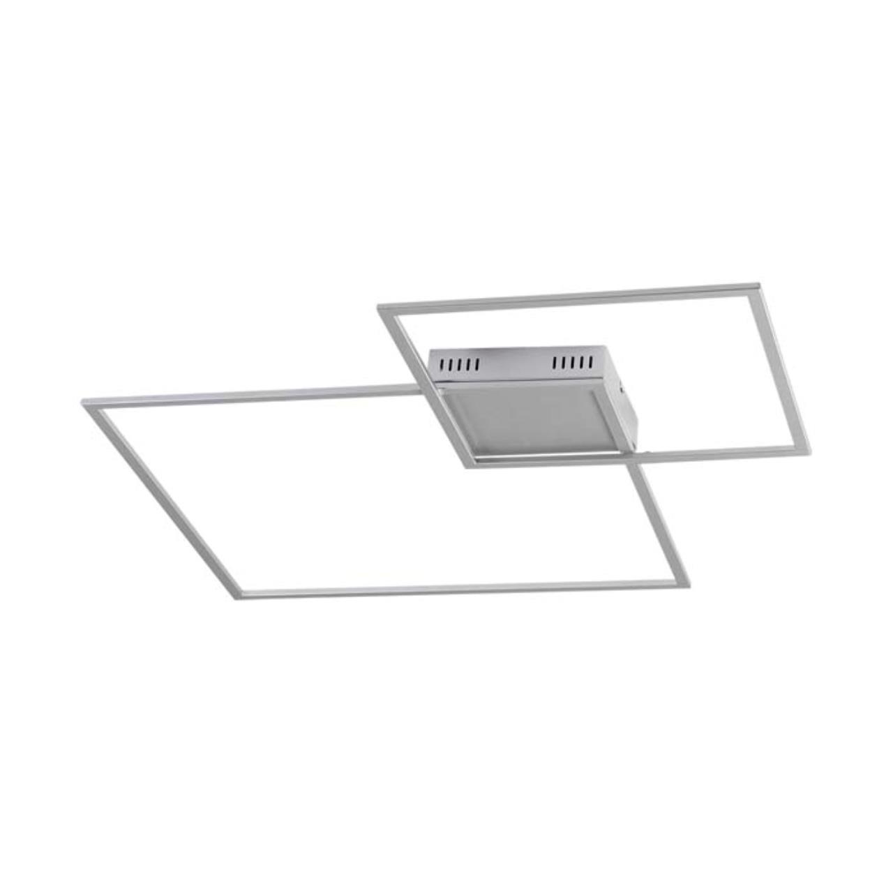 3558/36CL L-VISION ODL18 серебристый Н/п светильник IP20 LED 36W 4000K 2400Лм 220V QUADRALED