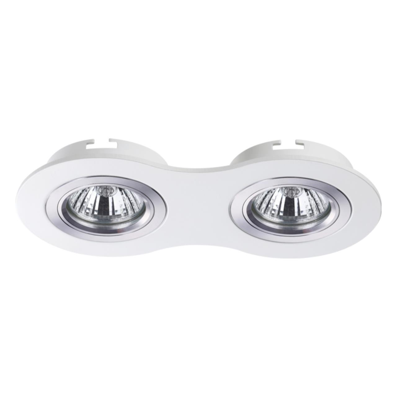 370391 SPOT NT18 130 белый Встраиваемый светильник IP20 GX5.3 50W 12V MORUS