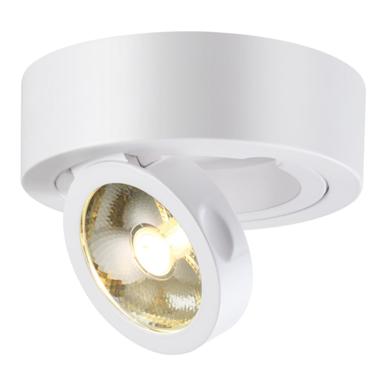357704 OVER NT18 083 белый Накладной светильник IP33 LED 3000K 10W 220-240V RAZZO