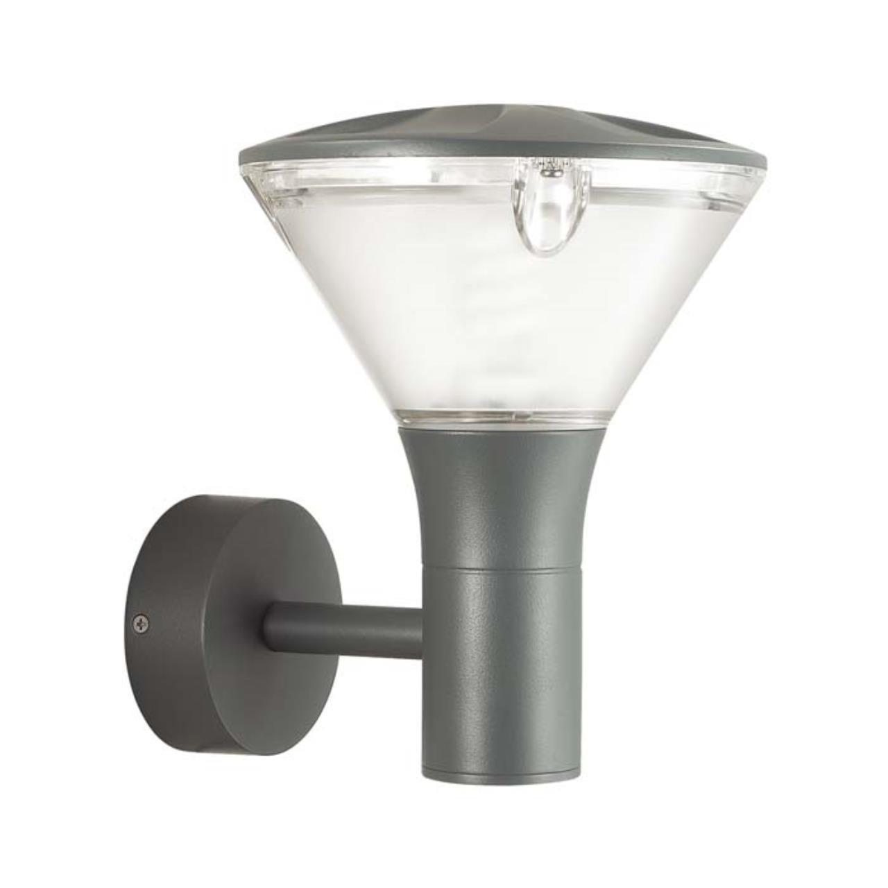 4046/1W CLASSIC  ODL18 701 матовый серый/прозрачный Уличный настенный светильник IP54 E27 23W 220V L