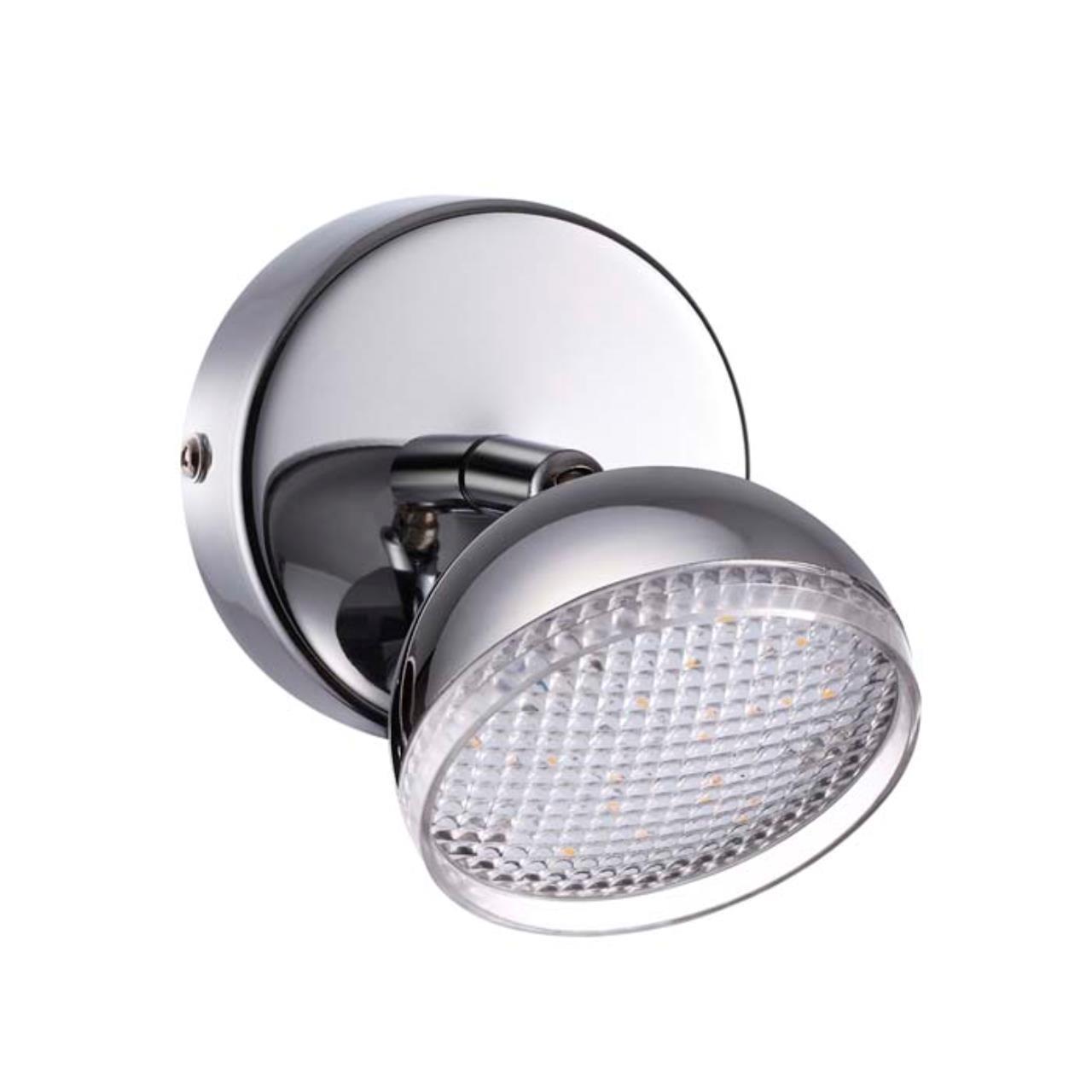 3623/6WL LEDIO LN18 13 хром Подсветка LED 6W 4000K 480Лм 220V FAROBIANCO