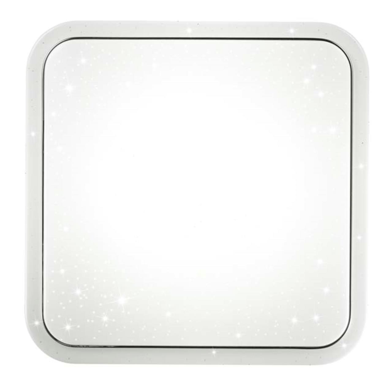 2014/F SN 097 св-к KVADRI пластик LED 90Вт 3200-4200-6200K 600х600 IP43 пульт ДУ