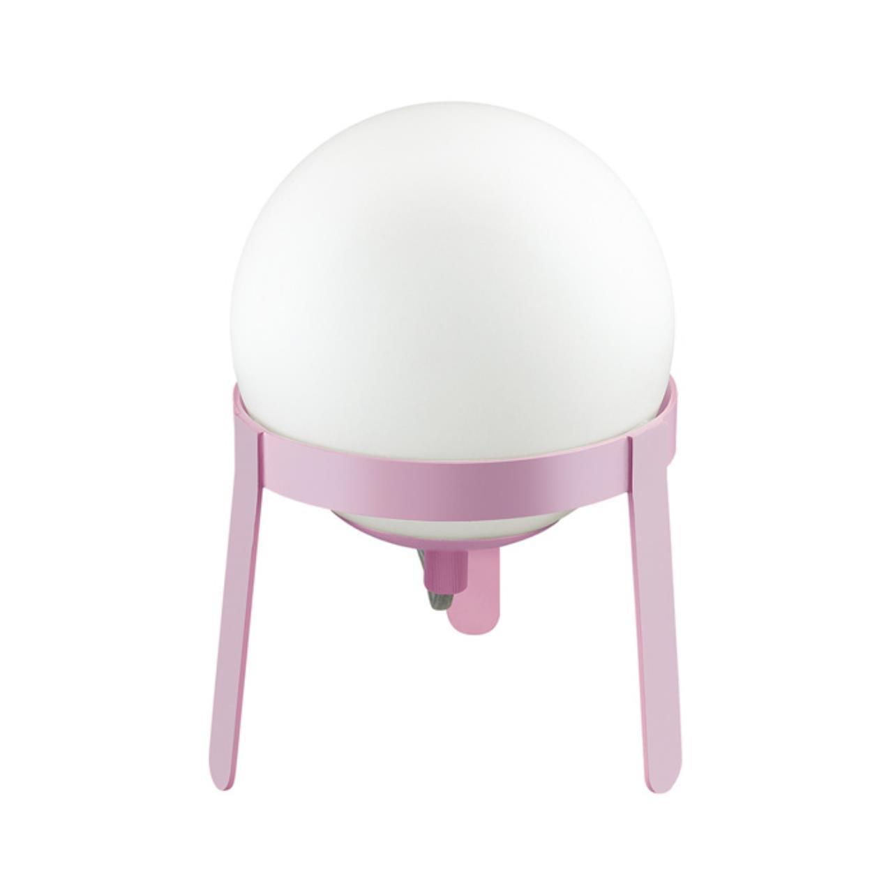 3649/1T DESK LN18 222 белый/розовый Настольная лампа E14 4W 220V CHIPO