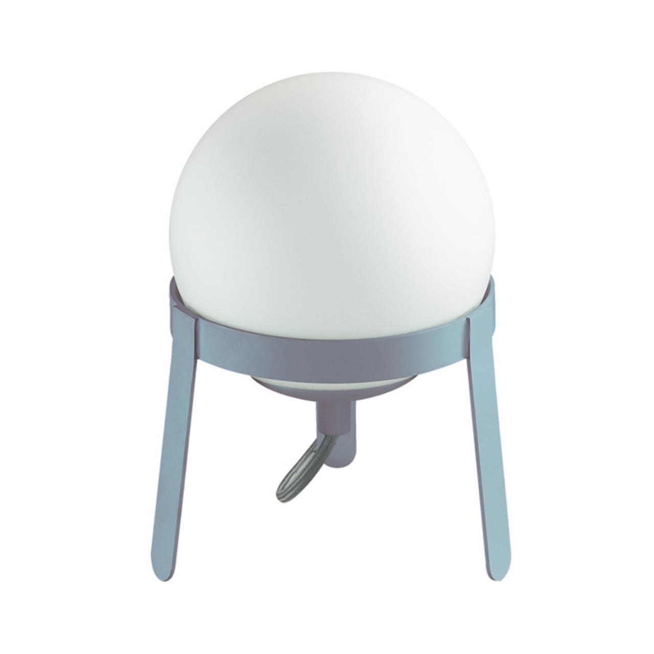 3650/1T DESK LN18 222 белый/голубой Настольная лампа E14 4W 220V CHIPO