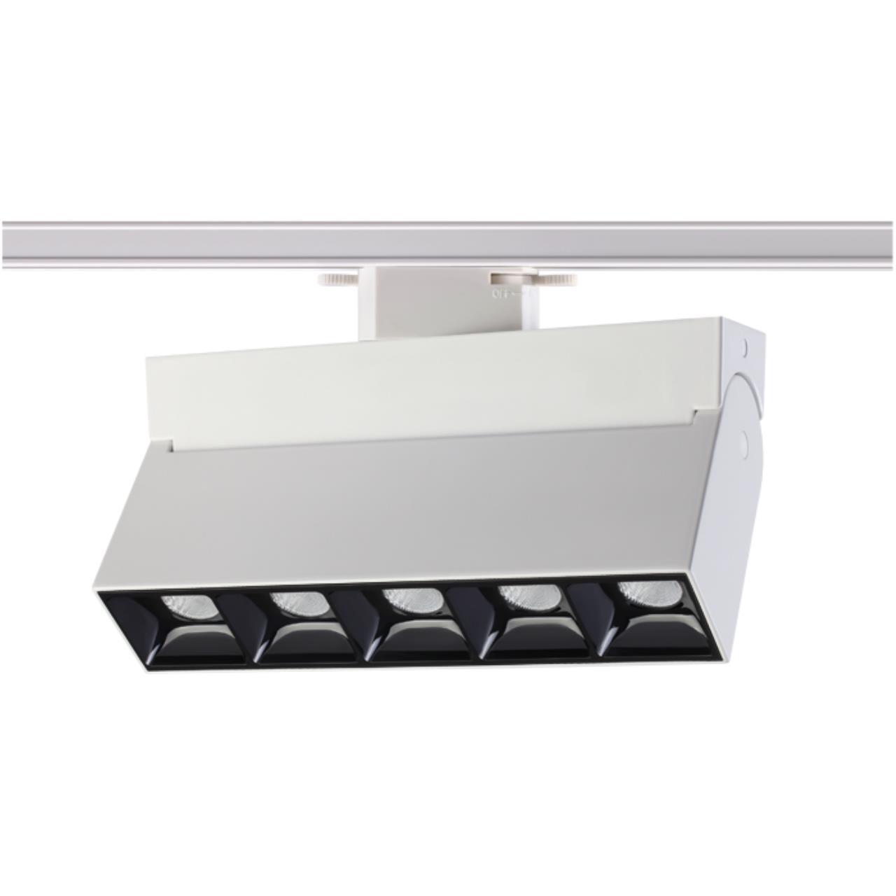 357841 PORT NT18 058 белый/черный Трековый светильник IP33 LED 3000К 25W 110-265V EOS