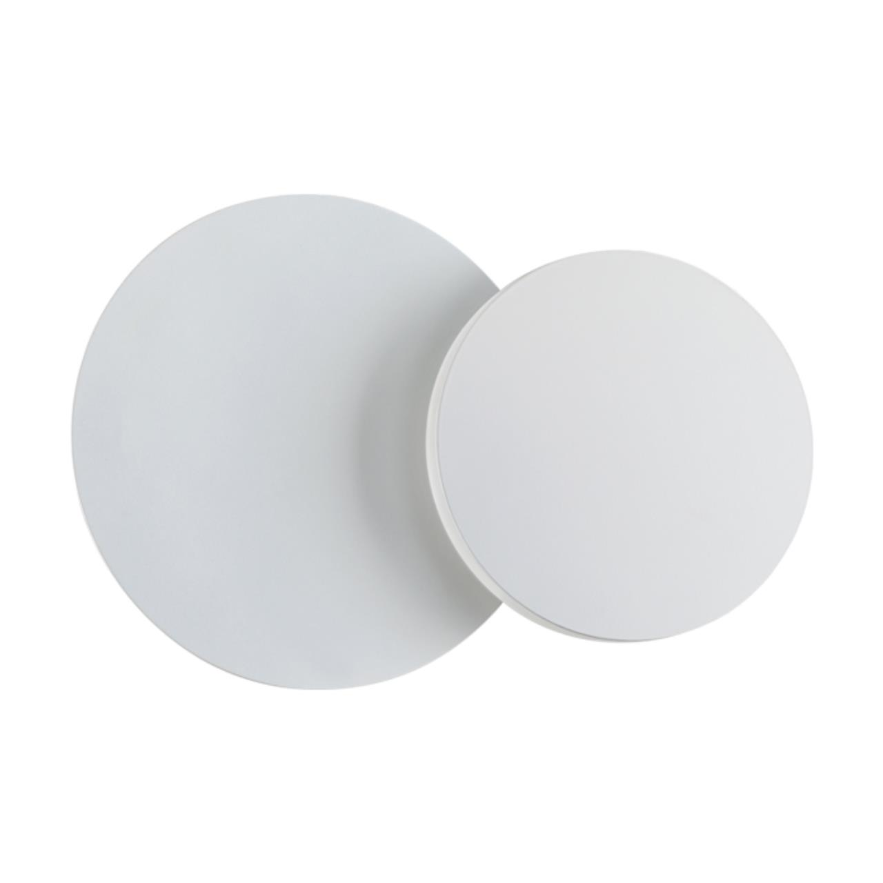 357856 OVER NT18 063 белый Накладной светильник IP20 LED 3000К 6W 110-240V SMENA