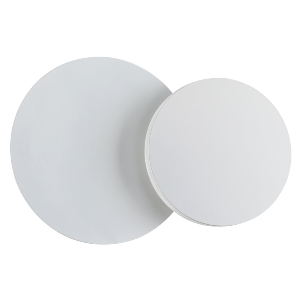 357857 OVER NT18 063 белый Накладной светильник IP20 LED 3000К 11W 170-240V SMENA