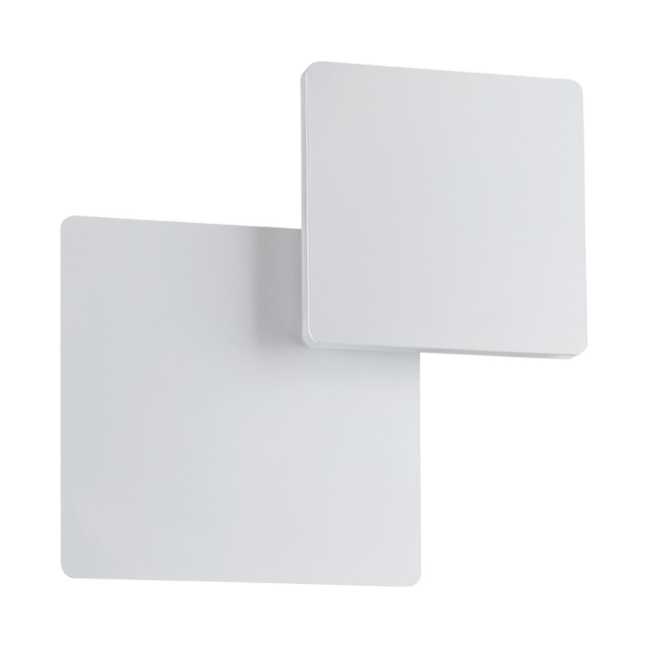 357858 OVER NT18 063 белый Накладной светильник IP20 LED 3000К 6W 110-240V SMENA