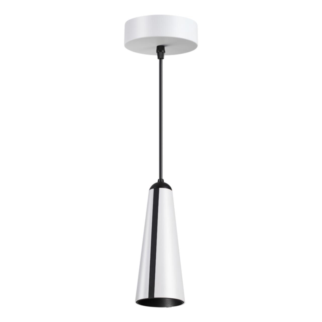 357865 OVER NT18 056 белый/черный Накладной светильник IP20 LED 3000К 31W 220-240V ZEUS