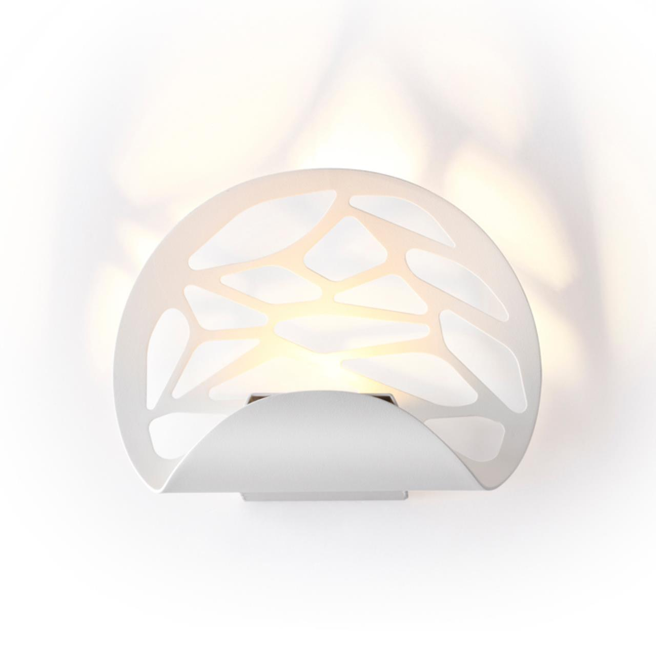 3836/10WL L-VISION ODL19 133 белый Настенный светильник LED 10W 220V WEB