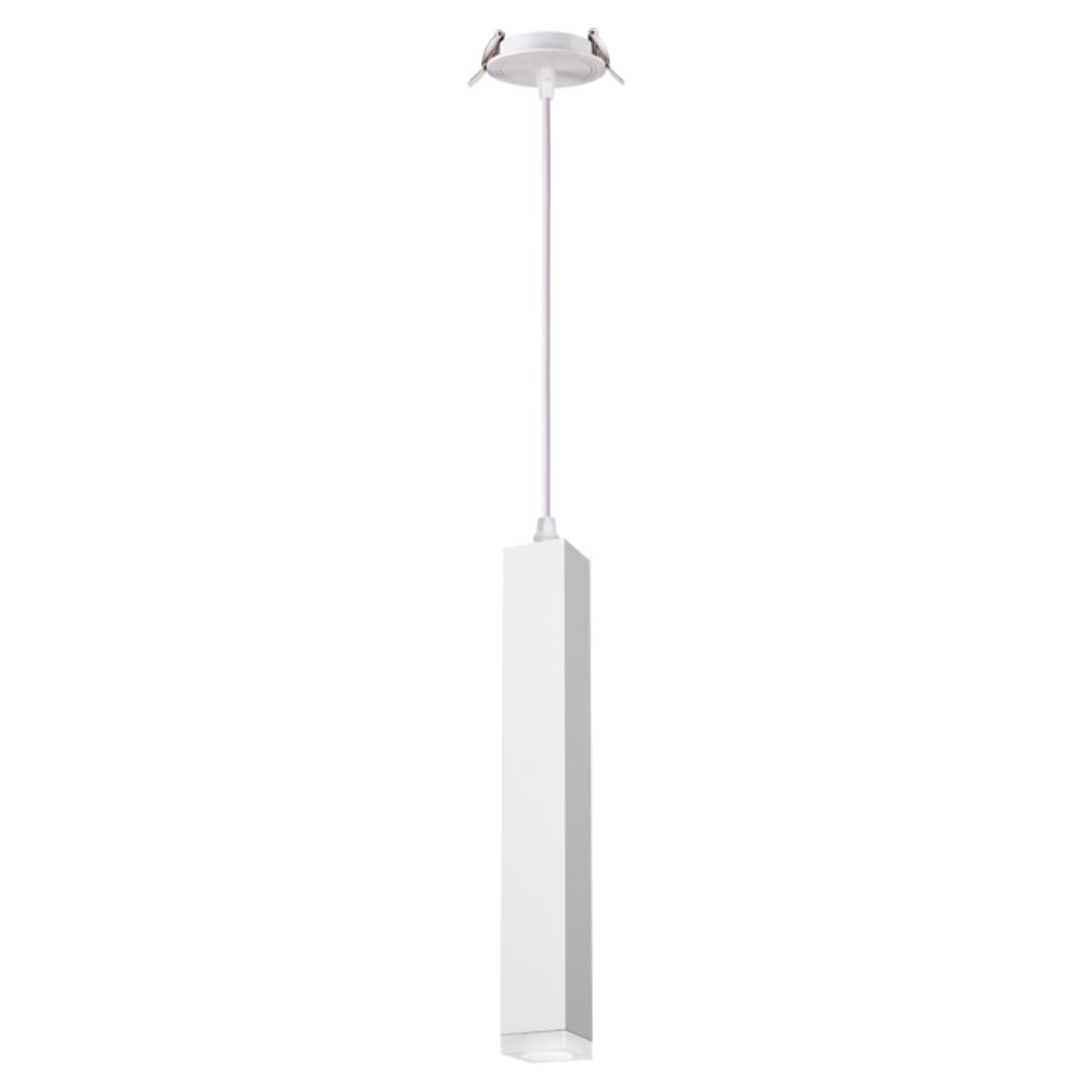 357898 SPOT NT19 069 белый Встраиваемый светильник IP20 LED 3000K 12W 160-265V MODO