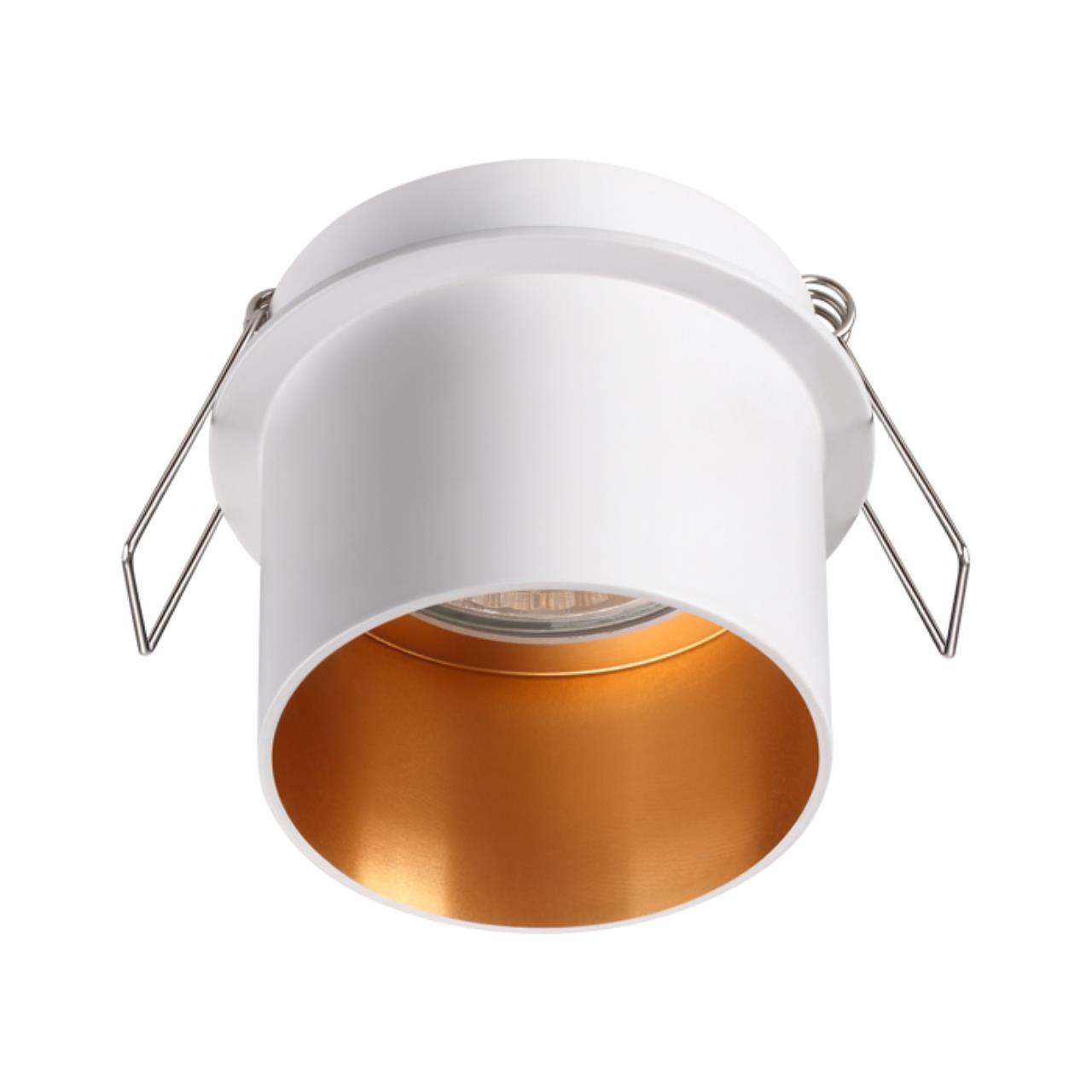 370432 SPOT NT19 130 белый Встраиваемый светильник IP20 GU10 50W 220V BUTT