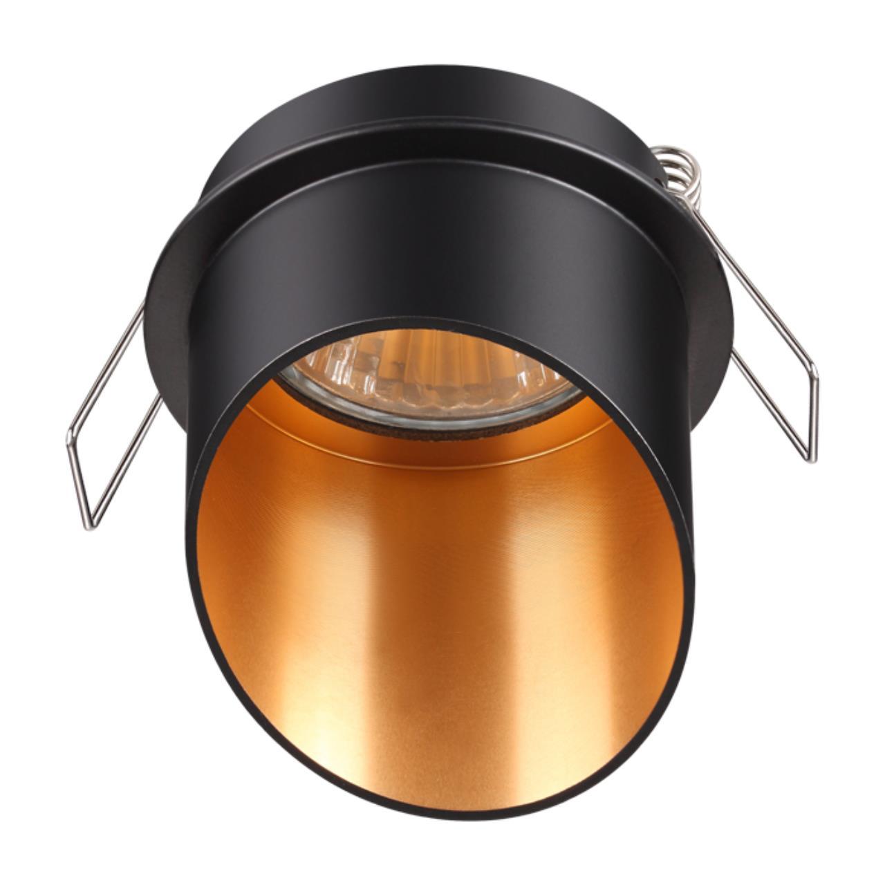 370435 SPOT NT19 130 черный Встраиваемый светильник IP20 GU10 50W 220V BUTT