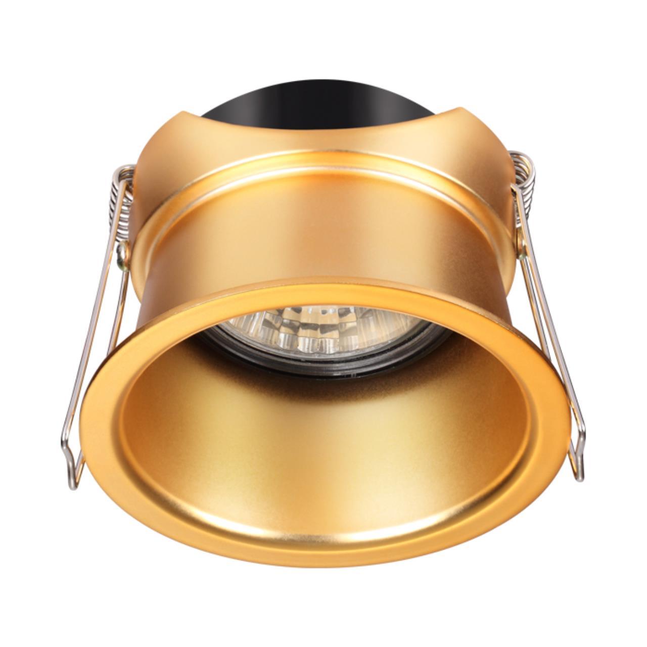 370447 SPOT NT19 130 золото Встраиваемый светильник IP20 GU10 50W 220V BUTT