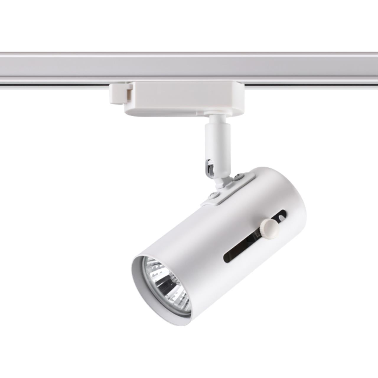 370413 PORT NT19 100 белый Трековый светильник IP20 GU10 50W 220V PIPE