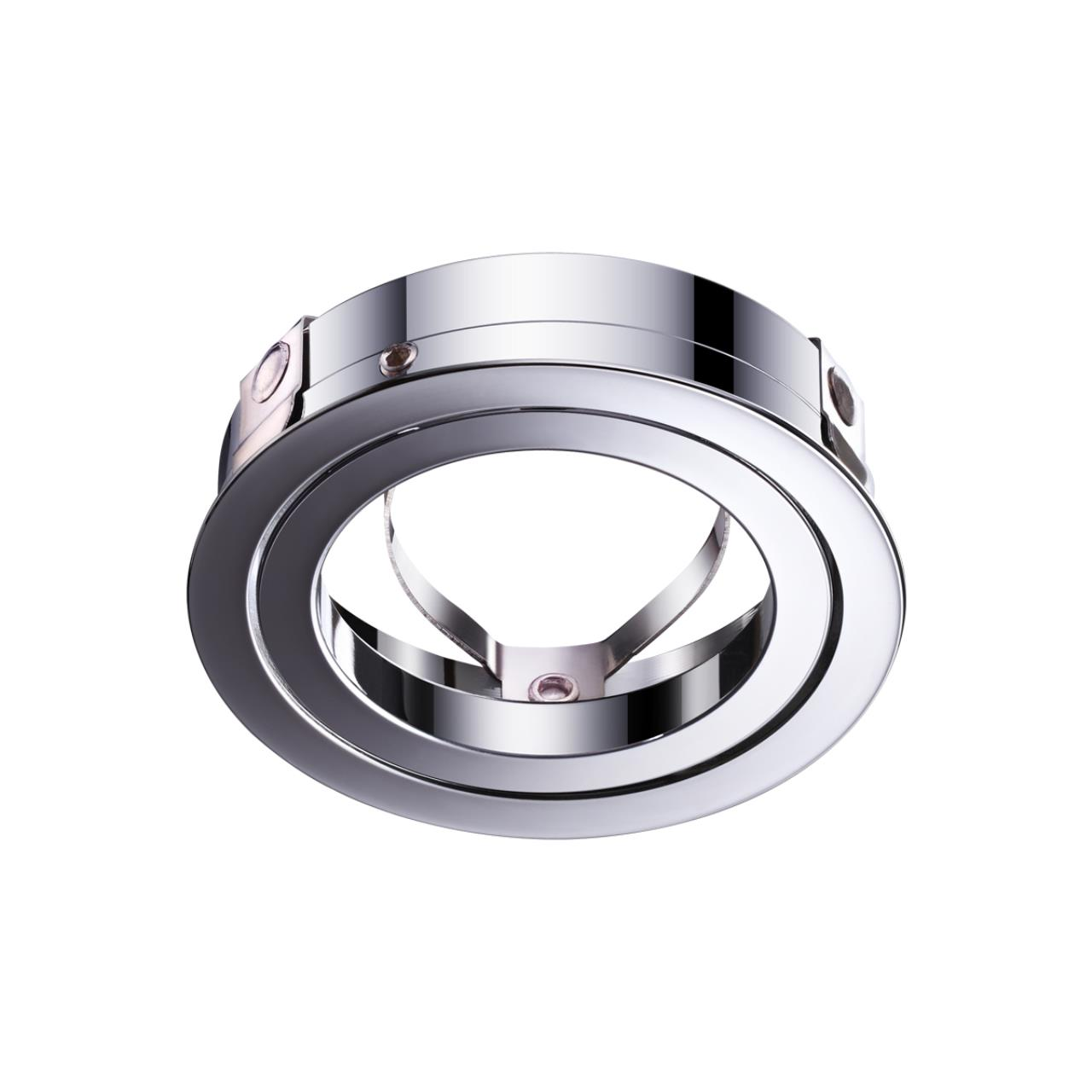 370459 KONST NT19 032 хром Крепежное кольцо для арт. 370455-370456 MECANO