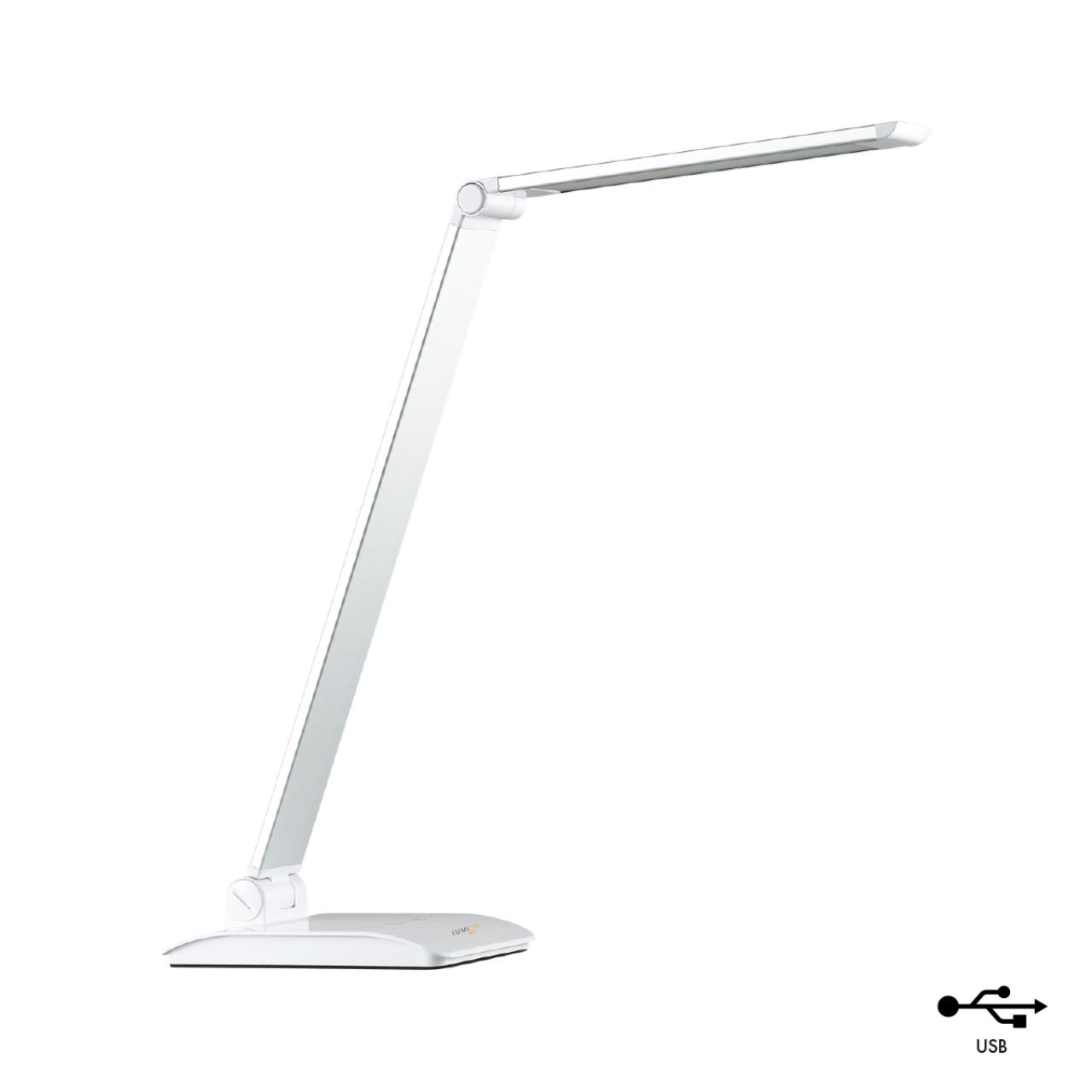 3758/7TL DESK LN19 276 белый Настольная лампа LED 7W 220V REIKO