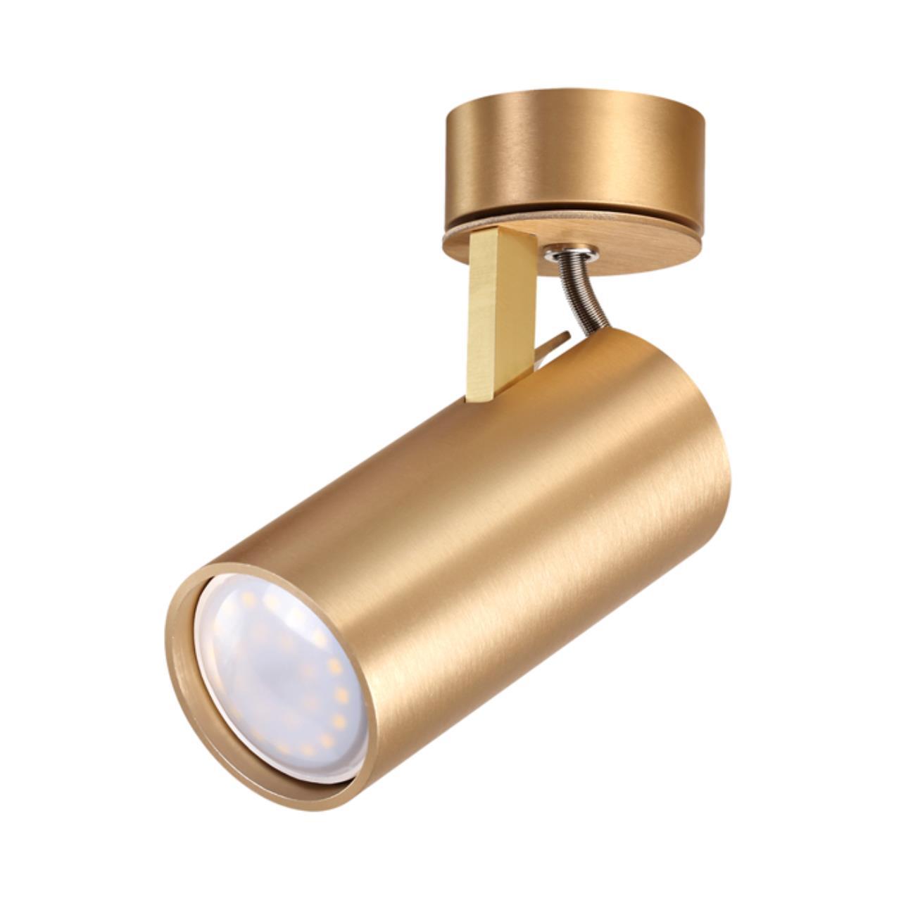 3876/1C HIGHTECH ODL19 215 золотистый Потолочный светильник GU10 1*50W 220V KIKO