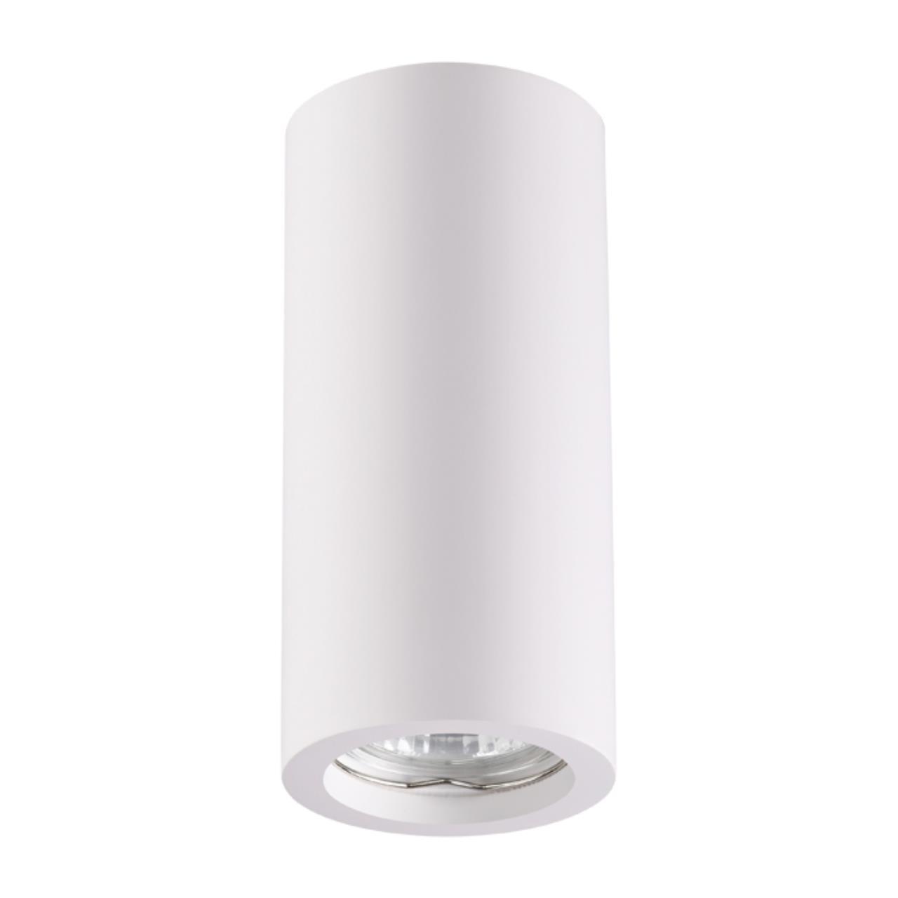 370465 OVER NT19 041 белый Накладной светильник IP20 GU10 50W 220V YESO