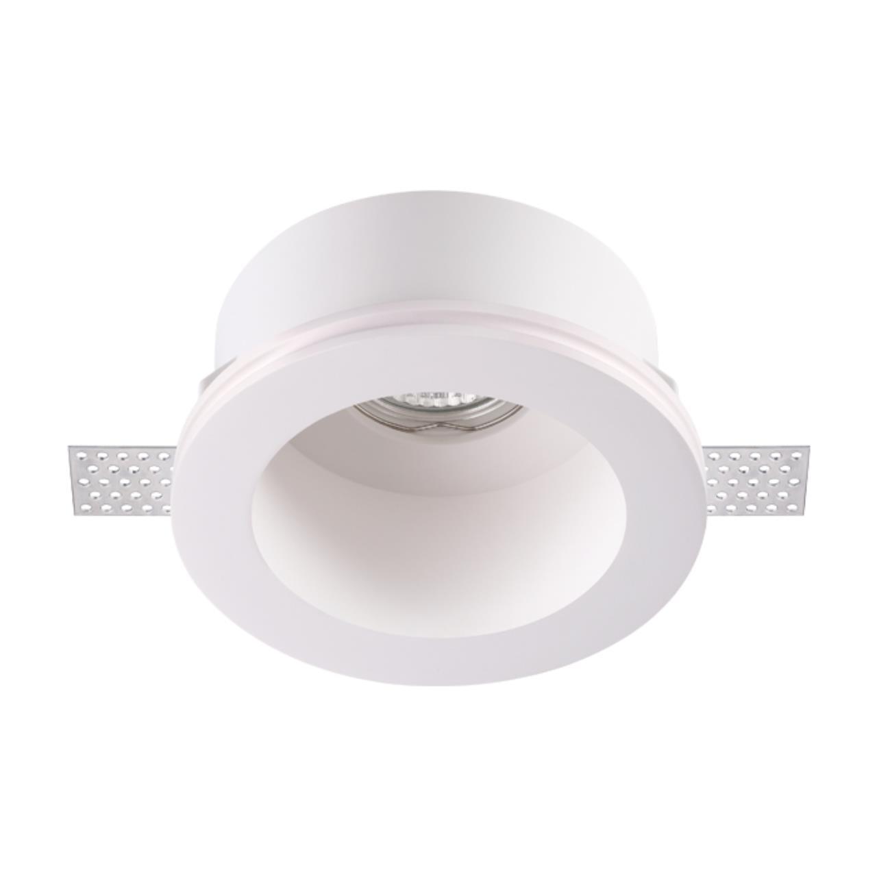 370470 SPOT NT19 042 белый Встраиваемый под покраску светильник IP20 GU10 50W 220V YESO