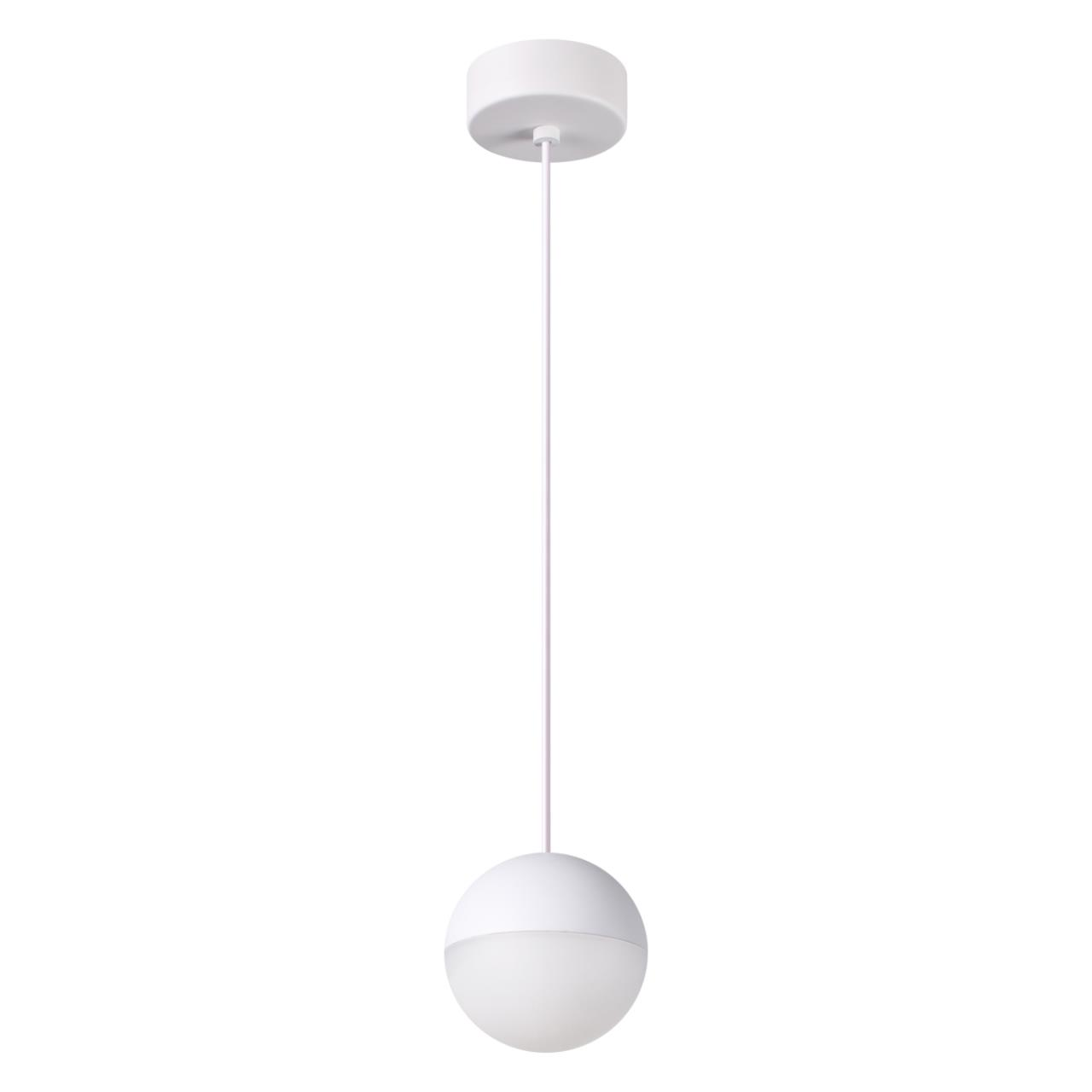 357942 OVER NT19 024 белый Накладной светильник IP20 LED 3000К 8W 220-240V BALL