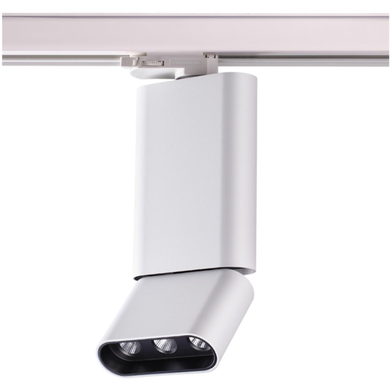 357954 PORT NT19 027 белый/черный Трековый светильник IP20 LED 3000К 12W 220-240V BELLA