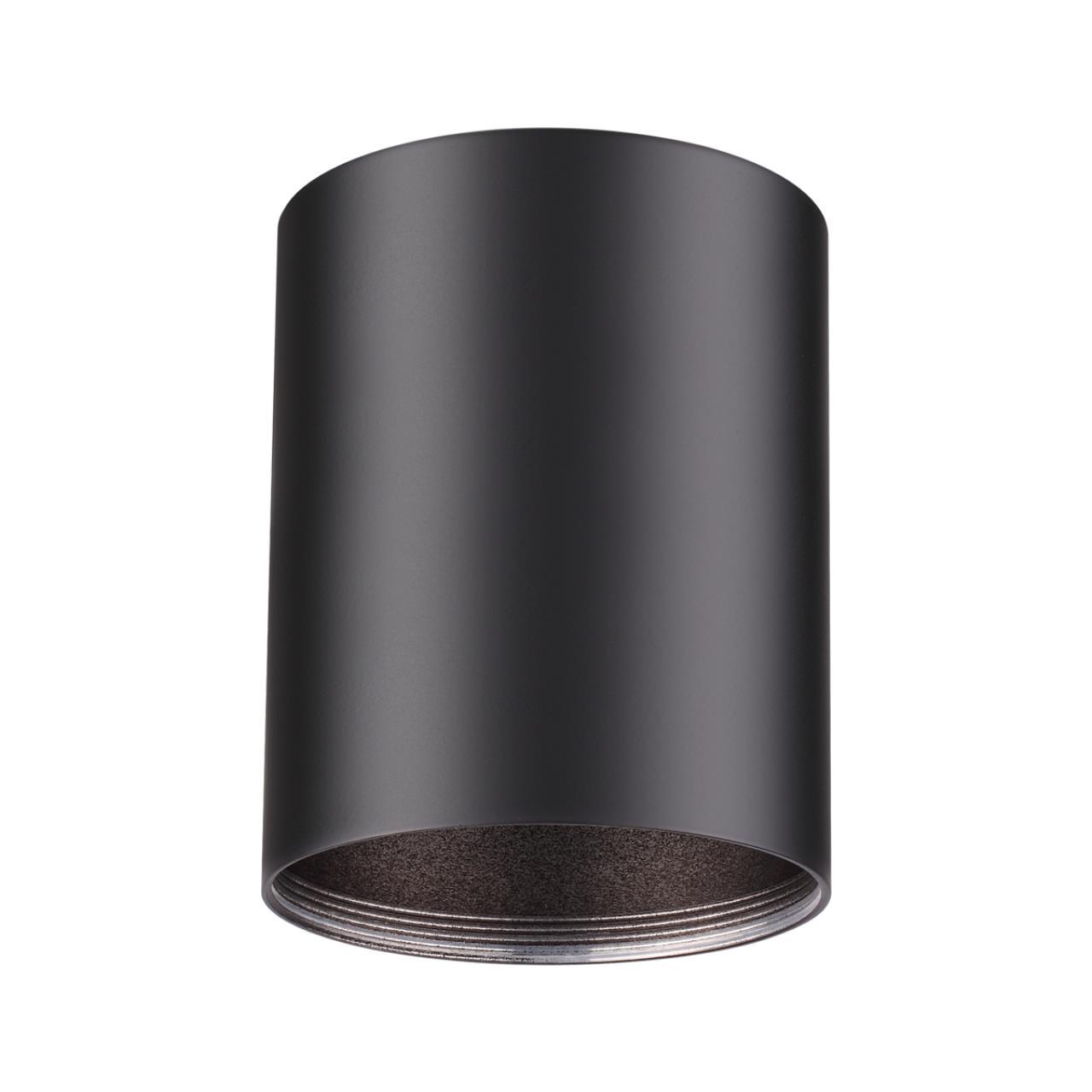 370530 KONST NT19 029 черный Накладной светильник IP20 GU10 220V UNITE