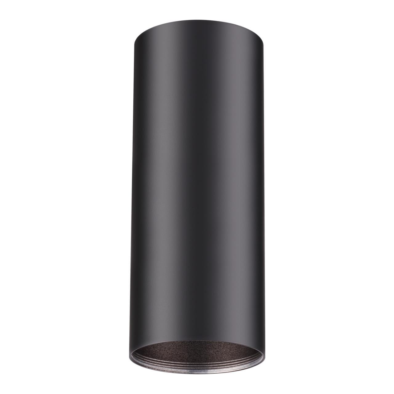 370533 KONST NT19 029 черный Накладной светильник IP20 GU10 220V UNITE