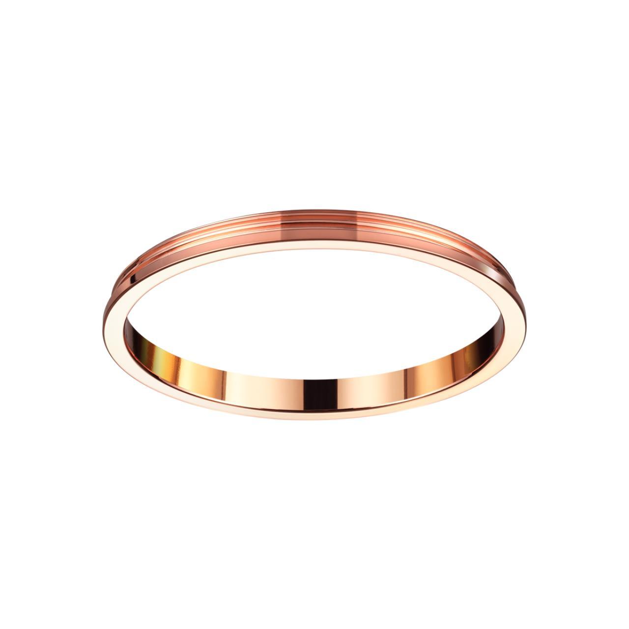 370544 KONST NT19 029 медь Внешнее декоративное кольцо к артикулам 370529 - 370534 UNITE