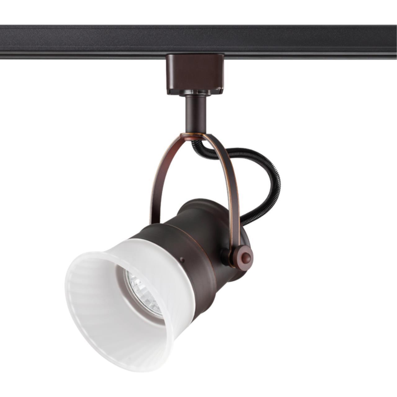 370549 PORT NT19 106 коричневый Трековый светильник IP20 GU10 50W 230V VETERUM