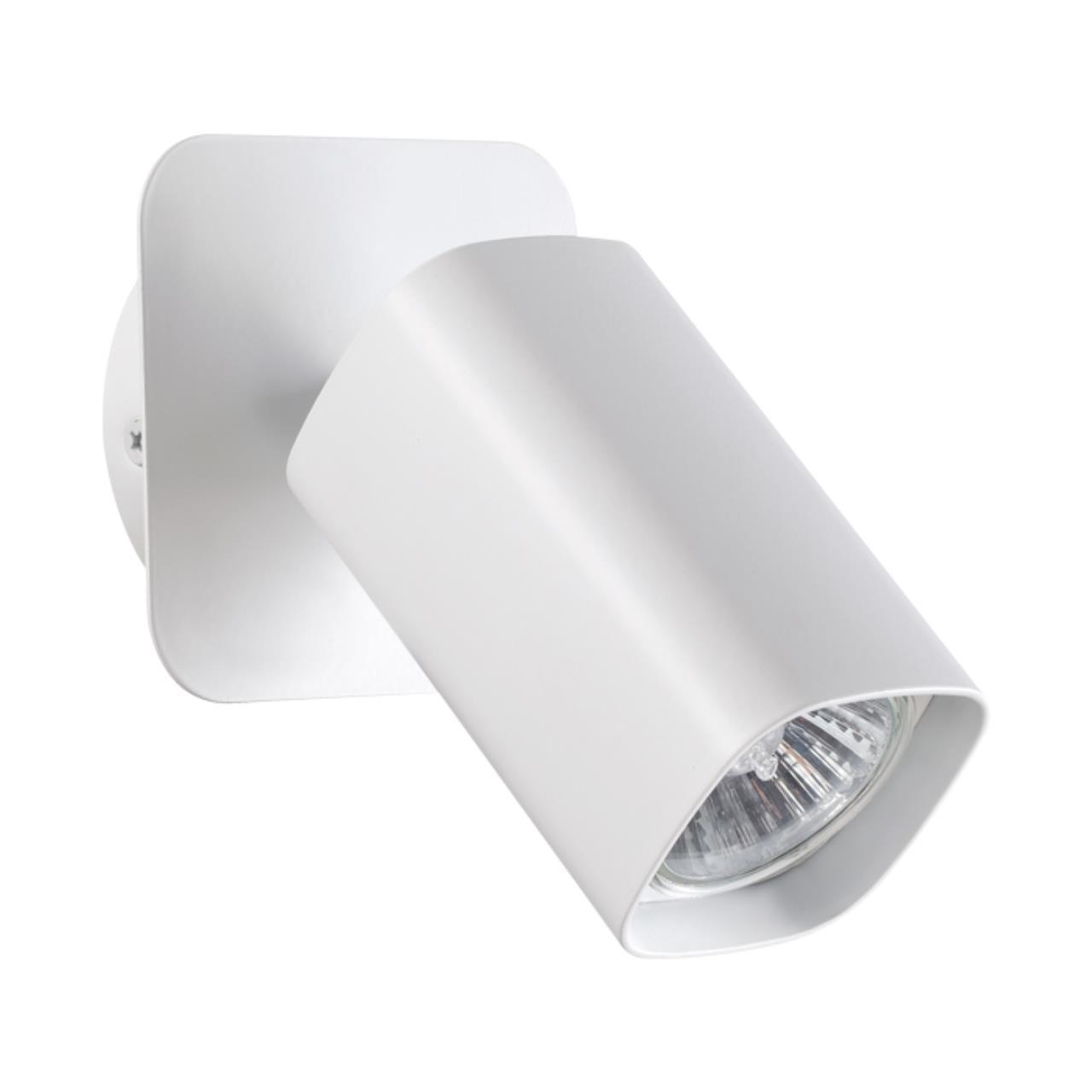 370553 OVER NT19 103 белый Накладной светильник IP20 GU10 50W 230V GUSTO