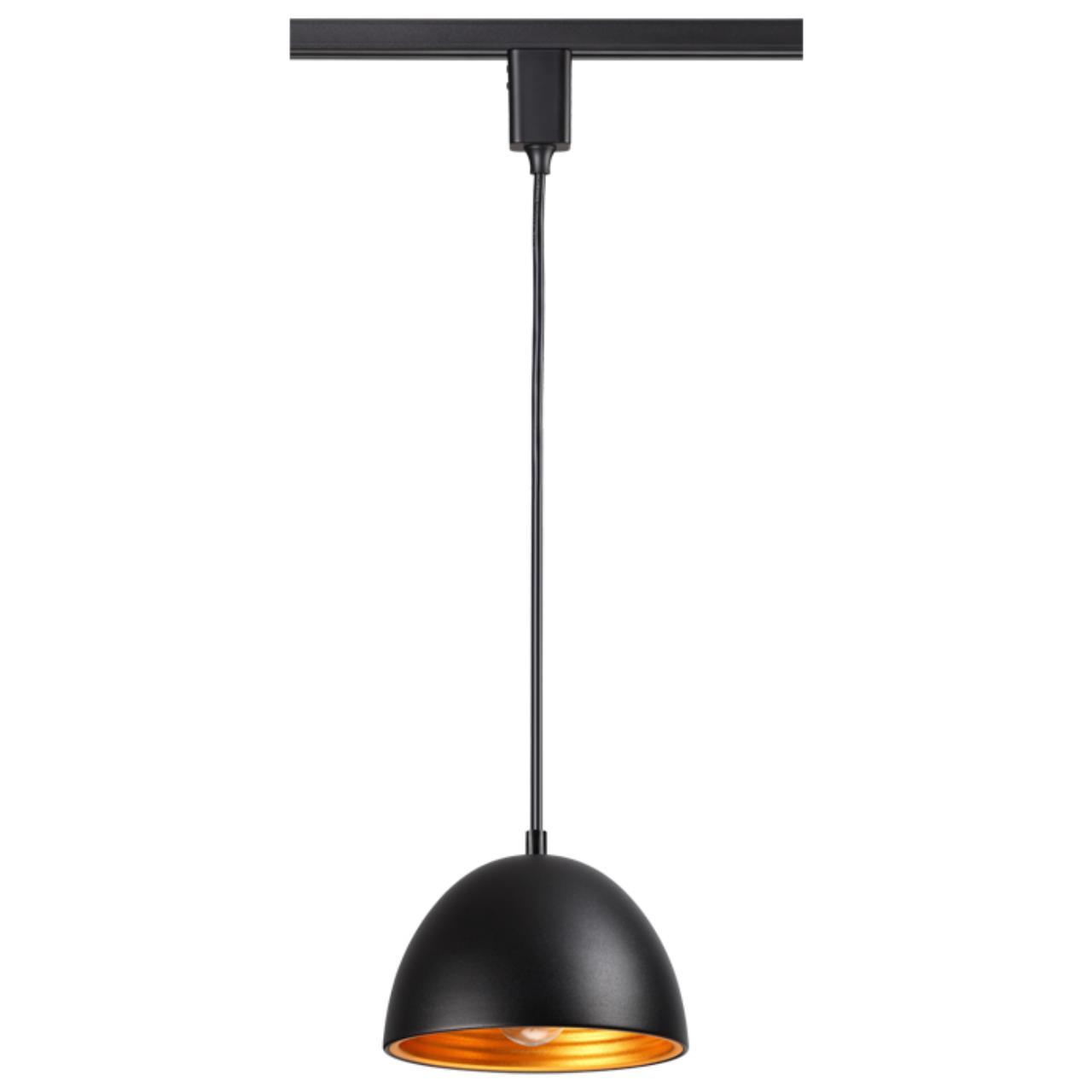 370562 PORT NT19 107 Черный Трековый светильник IP20 Е27 60W 230V VETERUM