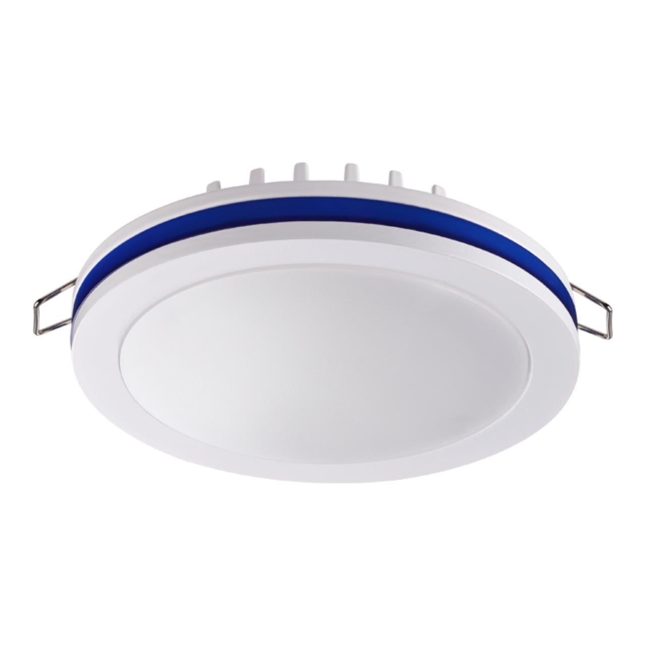 357964 SPOT NT19 080 белый/синий Встраиваемый светильник IP20 LED 4000К 18W 200-260V KLAR