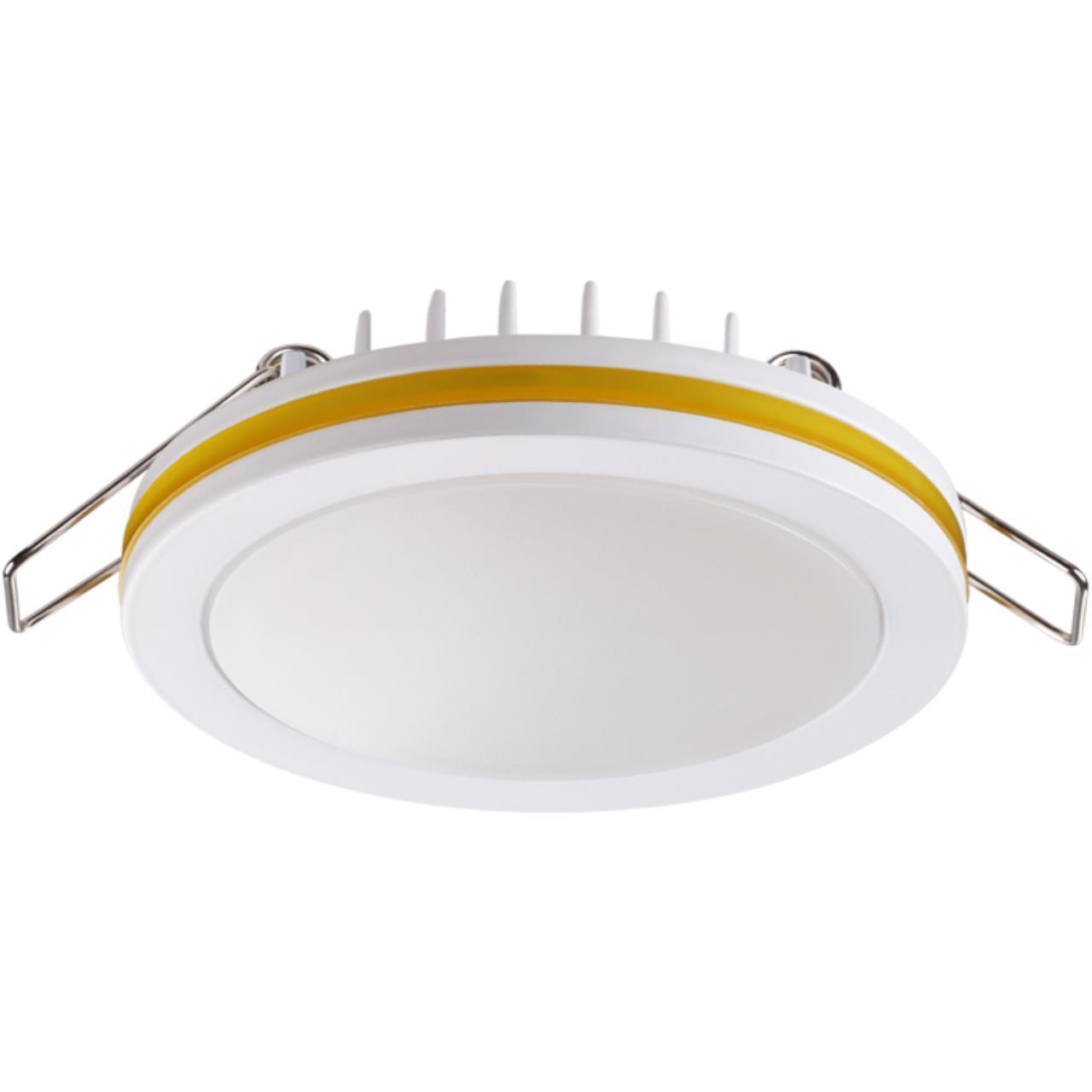 357965 SPOT NT19 080 белый/желтый Встраиваемый светильник IP20 LED 4000К 18W 200-260V KLAR